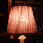 abat-jour couture la rochelle plissé rose 5 comp