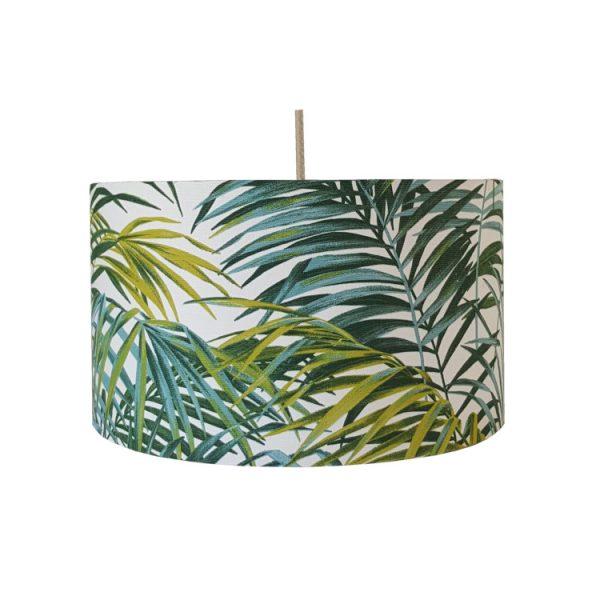 abat-jour palmier exotique