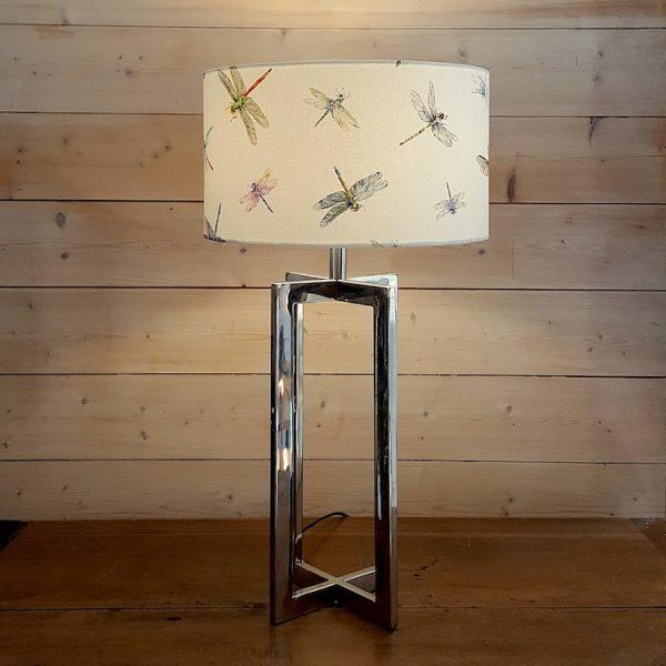 lampe à poser libellules